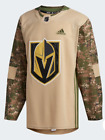 Adidas NHL Vegas Golden Knights Camo Veterans Day Practice Jersey CR6227 $130.0 USD on eBay