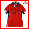 More images of Scotland Rugby Polo Shirt Macron S Small XL JR Top Red Short Sleeves Away 2014