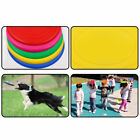 2Pcs Soft Rubber Flying Disc Silicone Frisbee Flyer Puppy Dog Pet Training  7