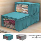 Foldable Storage Bag Clothes Blankets Quilt Container Box Closet Sweater Pouches