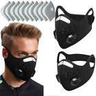 M-ask Cycling Face Cover With Filter Carbon Bicycle Bike Outdoor Sprot Protectiv