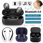TWS Wireless Headset Bluetooth 5.0 Headphone IPX6 Waterproof In-ear Earphone