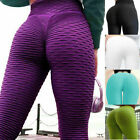 Womens Gym Anti-Cellulite Compression Leggings Push Up Elastic Sport Pants Yoga