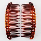 Cuttiee 1550 Set of 2 Hair Side Comb 6in Modern Style High Quality