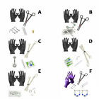 Starter Piercing Kit 14G 16G 18G Body Jewelry Forceps Needles