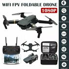 E58 2.4GHz RC Drone FPV Wifi 4K HD Camera 6-Axis RC Foldable Quadcopter with Bag