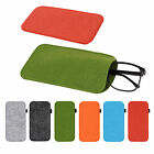 Eyeglass Pouch Glasses Sunglasses Case Sleeve Cosmetic Bag Soft Bags 9*18cm Xk