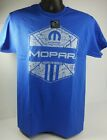 Blue T-Shirt - Mopar American Muscle w/ Blue M Logo / Emblem (Licensed) $16.99 USD on eBay