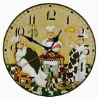 Wooden Wall Clocks Single Face Portrait Stickers Still Life Style Home Decor New