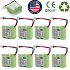 Lots 600mAh 3.6V For Vtech BT-17333 BT-27333 BT-163345 Cordless Phone Batteries