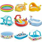 Childrens Kids Inflatable Paddling Pool Set Garden Water Splash Play Fun Summer