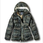 NWT Abercrombie&Fitch by Hollister Women's Down-Filled Puffer Coat Jacket