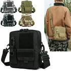 Messenger Bag Small Tactical Bag Crossbody Casual Pack Molle Pouch Travel Purse