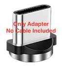 360° Magnetic Cable  USB Charger with 3 adapters For iPhone and Android Phones