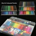 160 Colors Oil Art Pencils Drawing Set Sketching Artist Non-toxic Colouring ~~