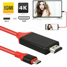 USB-C Type C 3.1 to HDMI Cable 4K Adapter for Samsung Galaxy S10 Note 9 Macbook