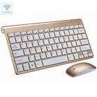 Mini Wireless Keyboard And Mouse Set Waterproof 2.4G For Mac Apple PC Computer g