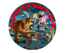 Lego Jurassic World Dinosaur Game Party Cake Decoration Icing Sheet Birthday