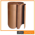 Corrugated Cardboard Paper Roll Postal Packaging Parcels 750mm x 75m