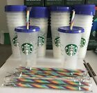 Starbucks 2020 COLOR CHANGING Cups. Confetti Cups. Venti Straws. Reusable.