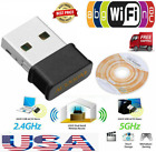 Wireless Fast WiFi Adapter Mini Network Dongle 1200Mbps Adapter 5GHz Dual Band