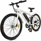 26' 36V 350W Electric City Bicycle e-Bike Removable Battery 7 Speed Pedal Assist