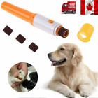 1/2pcsElectric Pet Nail Grinder Claw Grooming Trimmer Paws Clipper Dog Cat Care