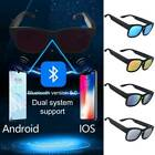Polarized Sunglasses bluetooth Smart Glass Headset Music Stereo Waterproof NEW