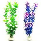 Artificial Water Plant Aquatic Grass Fish Tank Aquarium Decor Accessorie#