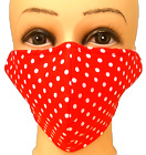 Cotton Unisex Face Mask, Reusable, Washable, Triple Layer Handmade in UK <br/> UK SELLER, FAST SHIPPING, TOP QUALITY AND BEST PRICES