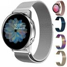 Stainless Steel Band Milanese Strap For Samsung Galaxy Watch Active 2 40mm 44mm image