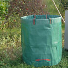 45/72GAL Round Garden Waste Bag PP plastic Heavy Duty Reinforced Refuse Sack