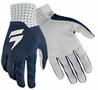 Shift Racing Mens Blue/White Blue Label Air Dirt Bike Gloves ATV MX 2018