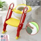 Kyпить Toddler Toilet Chair Kids Potty Training Seat w/ Step Stool Ladder for Child US на еВаy.соm
