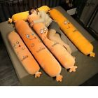 Lifelike Sausage Plush Toys Stuffed Long Sleeping Pillow Food Plush Dolls Gift
