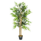 Artificial Bamboo Plant Large Potted Home Office Decoration 3ft 4ft 5ft Christow