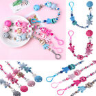Non-toxic Cute Letters Toys Pacifier Chain Baby Teething Dummy Clips Soother