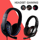 Cuffie Da Gioco Auricolare Gaming Headphone Microfono LED Per PS4 XBOX Laptop a
