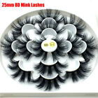 Thick Long Cruelty-free 8D Mink Hair 25mm Lash False Eyelashes Lash Extension