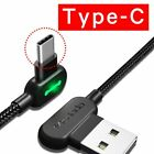 Spartan Power LED USB Data Cord Mobile Phone Fast Charging Cable⚡🇺🇲 US Stock🔥
