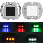 Solar Power Marker 6 LED Outdoor Road Driveway Pathway Dock Ground Step Light
