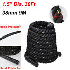 """1.5"""" 2"""" 30/40/50Ft Battle Power Rope Workout Exercise Strength Training Fitness"""