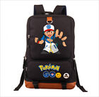 Pokemon GO laptop books School bag Raichu Charizard Anime Backpack New/wtag