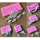 3d Silicone Cake Border Mold Fondant Lace Mold Diy Bakeware Accessories Us