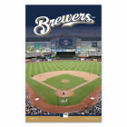"Milwaukee Brewers 11"" x 17"" 3/8"" Thick Wood Sign on Ebay"