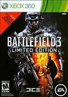 Battlefield 3 -- Limited Edition (Microsoft Xbox 360, 2011) Complete