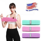 US STOCK 3 PCS Resistance Bands Fitness Workout Training Band For Gym Exercise image