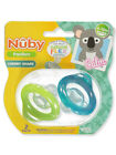 Nuby 2-Pack Pacifiers 6-12M