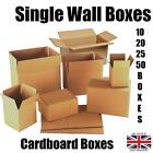 NEW 10 20 25 50 X WALL Corrugated Cardboard Boxes – Mailing Packing Carton Boxes