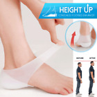 Concealed Footbed Enhancers Invisible Height Increase Silicone Insoles Pads US